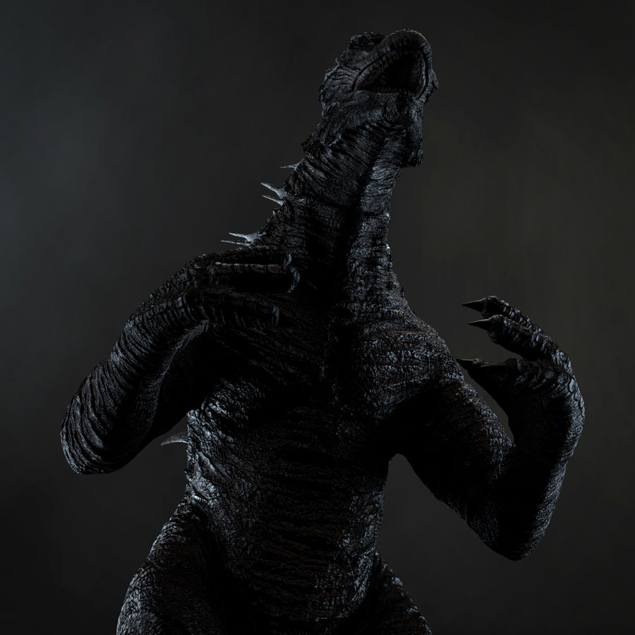 Monster royalty-free 3d model - Preview no. 3