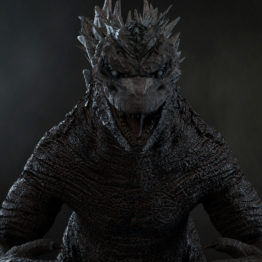 Monster royalty-free 3d model - Preview no. 12