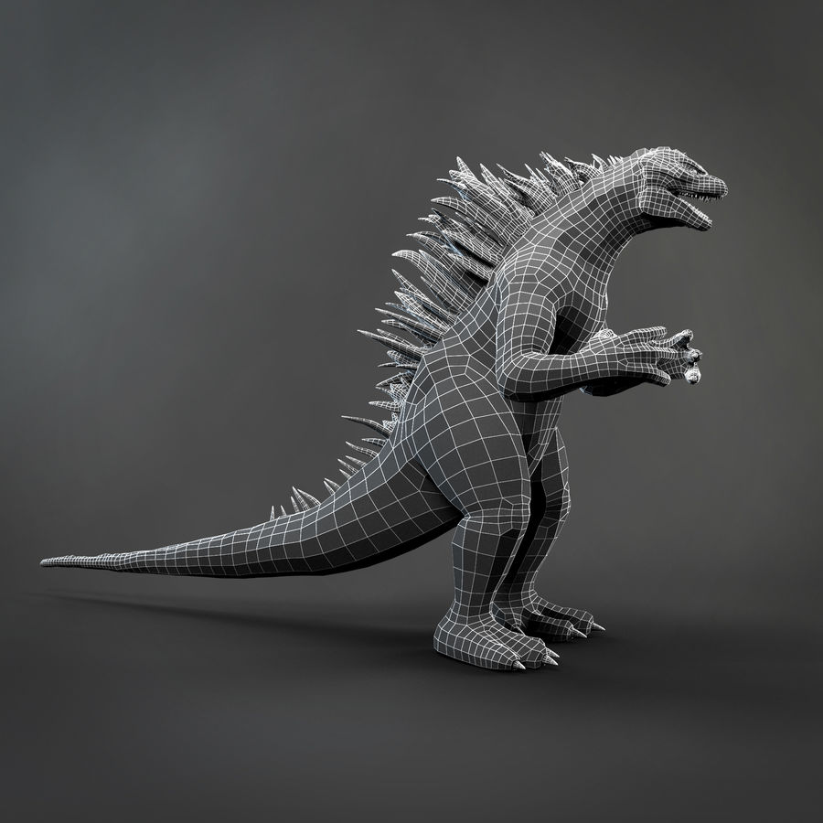 Monster royalty-free 3d model - Preview no. 6