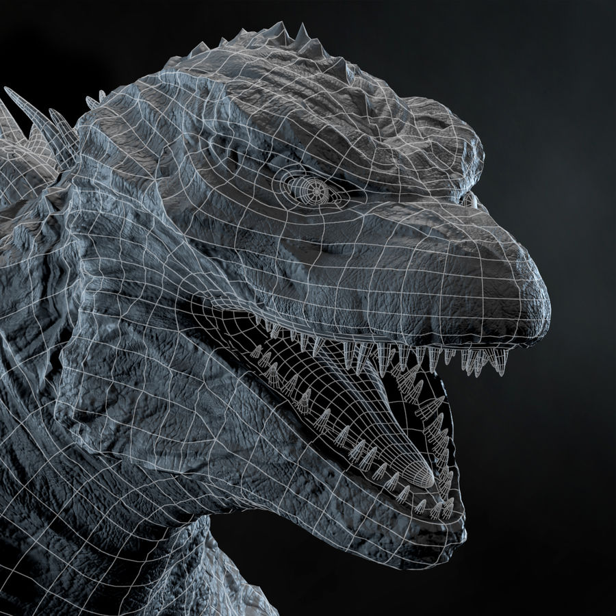 Monster royalty-free 3d model - Preview no. 11