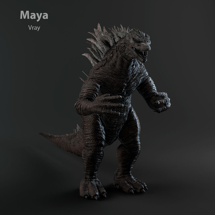 Monster royalty-free 3d model - Preview no. 18