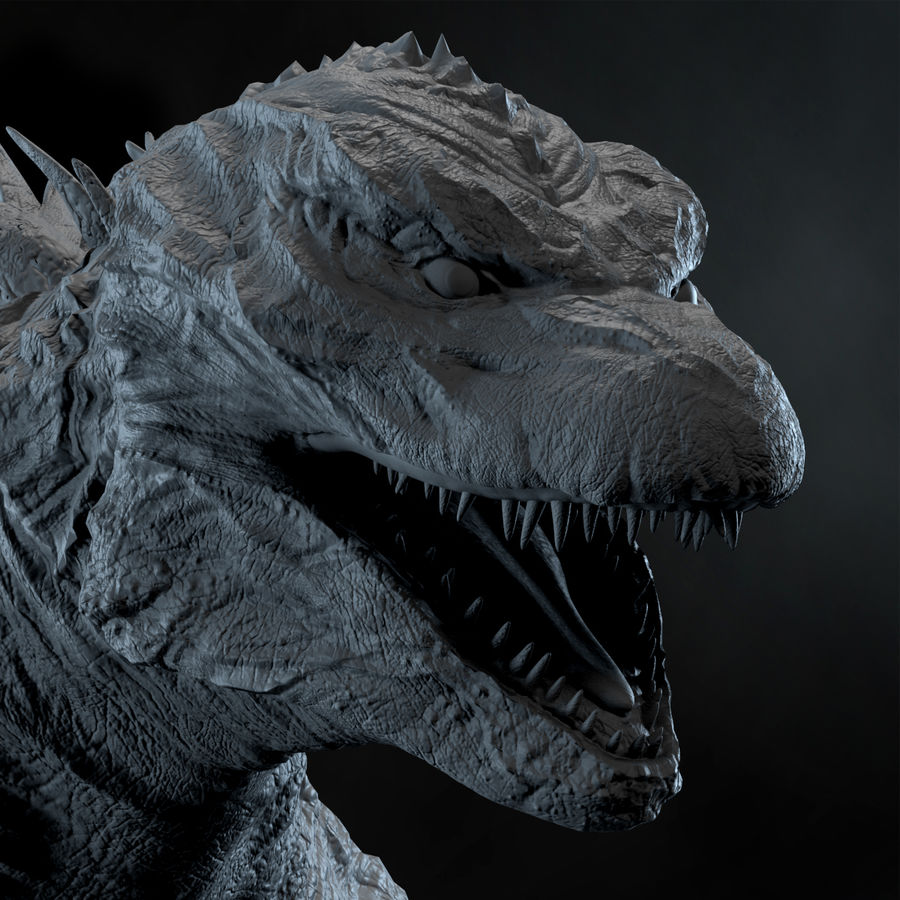 Monster royalty-free 3d model - Preview no. 10