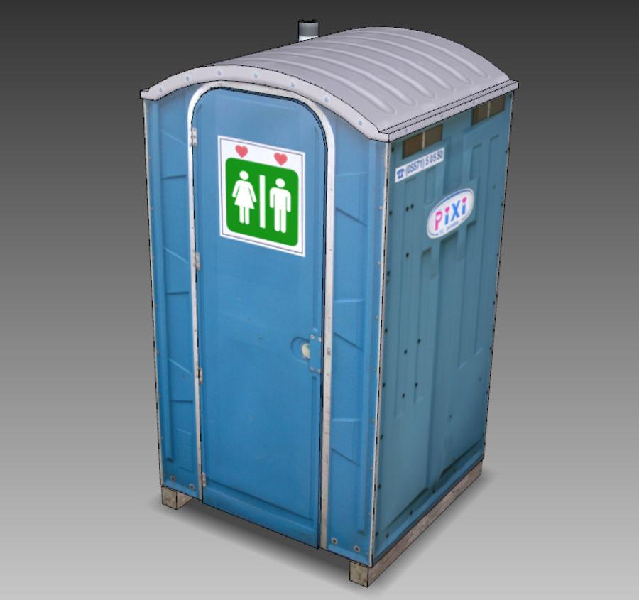 Mobilna toaleta royalty-free 3d model - Preview no. 21