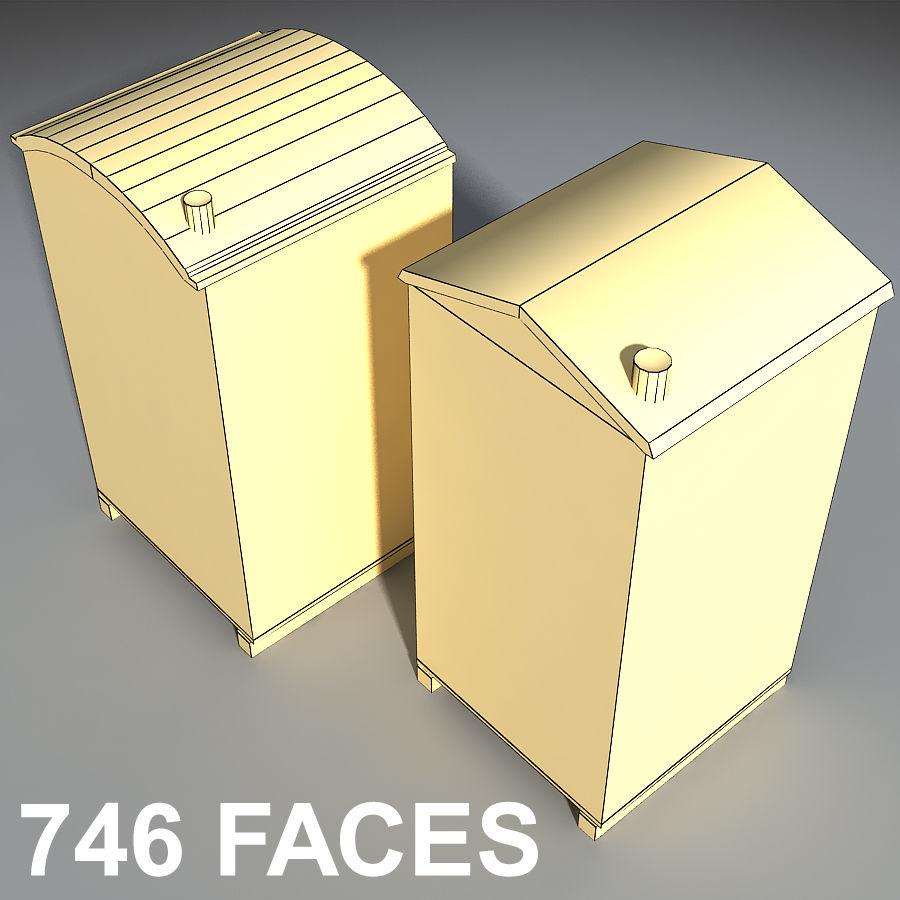 Mobilna toaleta royalty-free 3d model - Preview no. 11