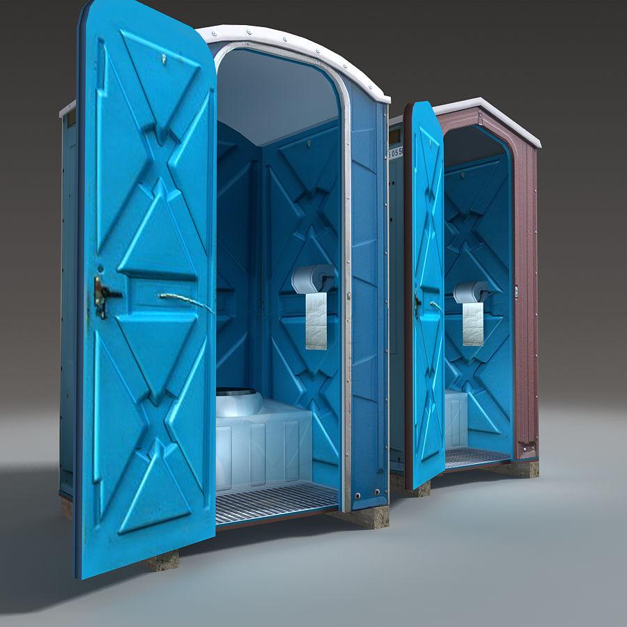 Mobilna toaleta royalty-free 3d model - Preview no. 14