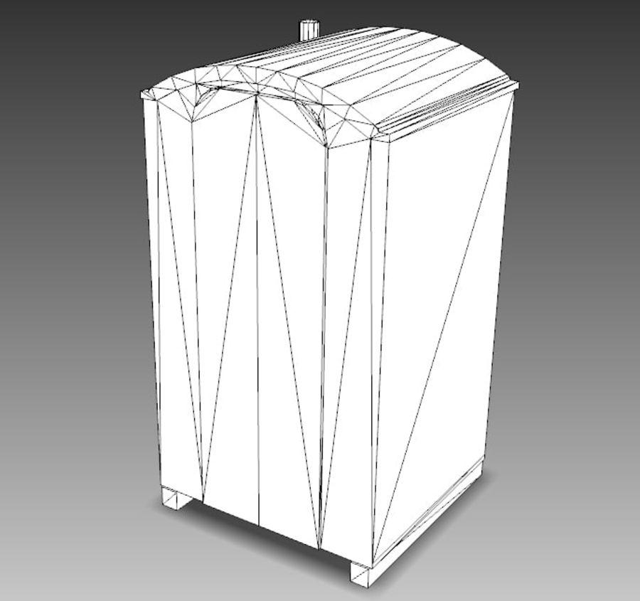 Mobilna toaleta royalty-free 3d model - Preview no. 22