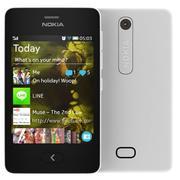 Nokia Asha 501 White 3d model