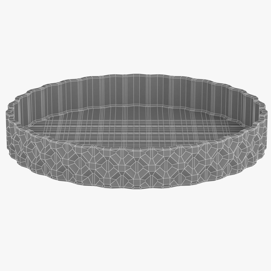 Glass bowl royalty-free 3d model - Preview no. 4