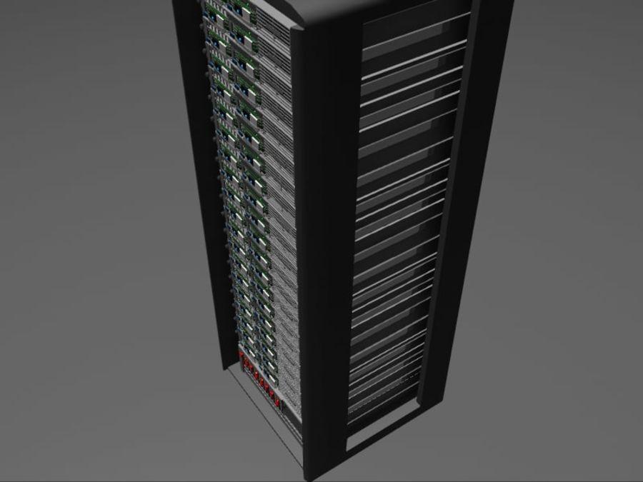 Server Rack - Plain Storage royalty-free 3d model - Preview no. 4