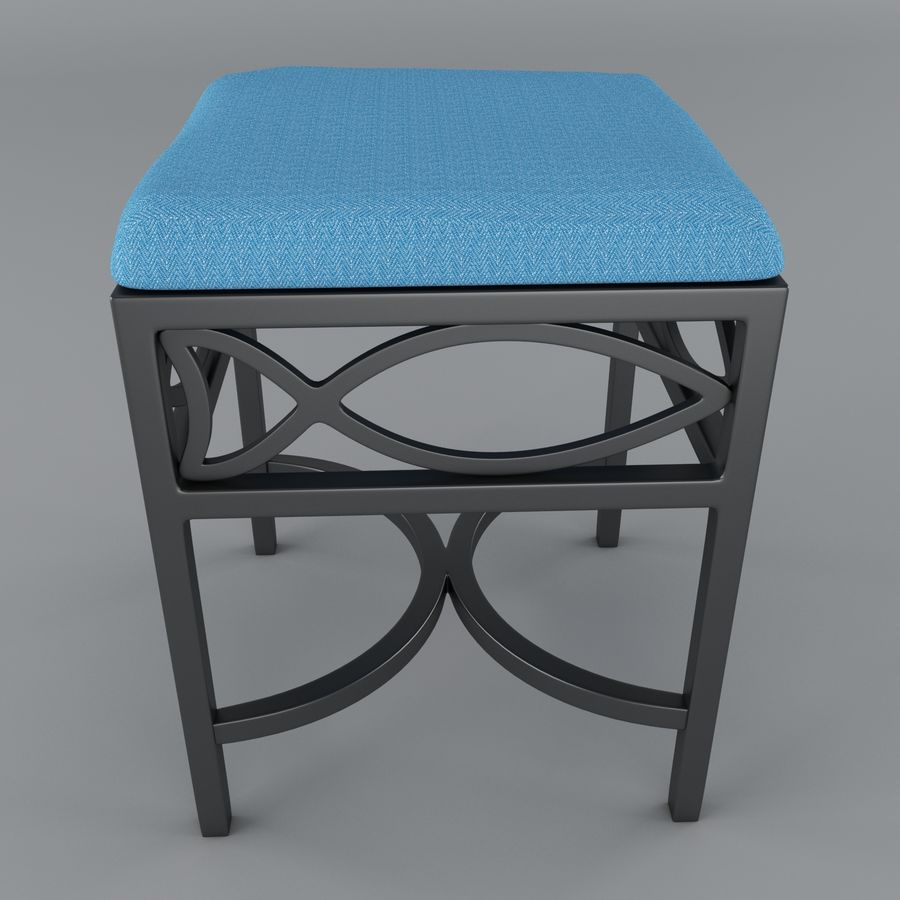 posto a sedere royalty-free 3d model - Preview no. 2