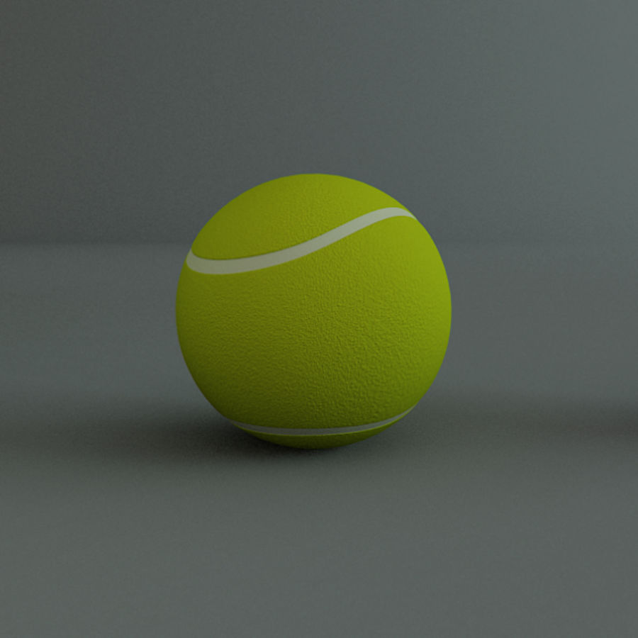 Collezione Sport Balls royalty-free 3d model - Preview no. 9