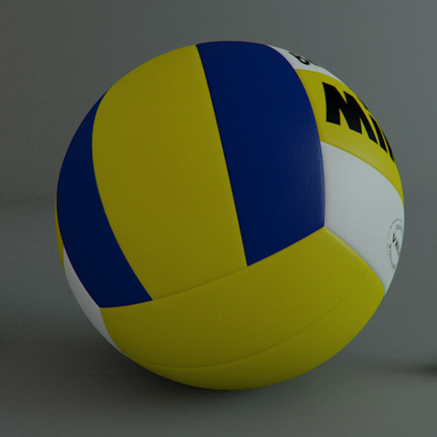 Collezione Sport Balls royalty-free 3d model - Preview no. 10