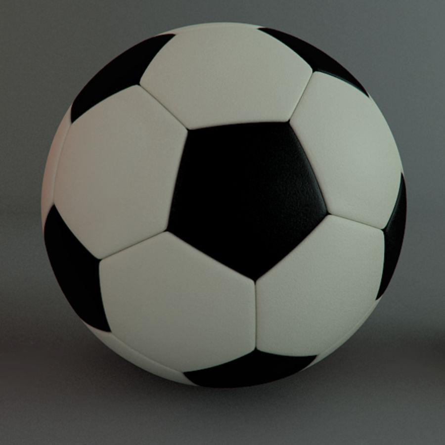 Collezione Sport Balls royalty-free 3d model - Preview no. 7