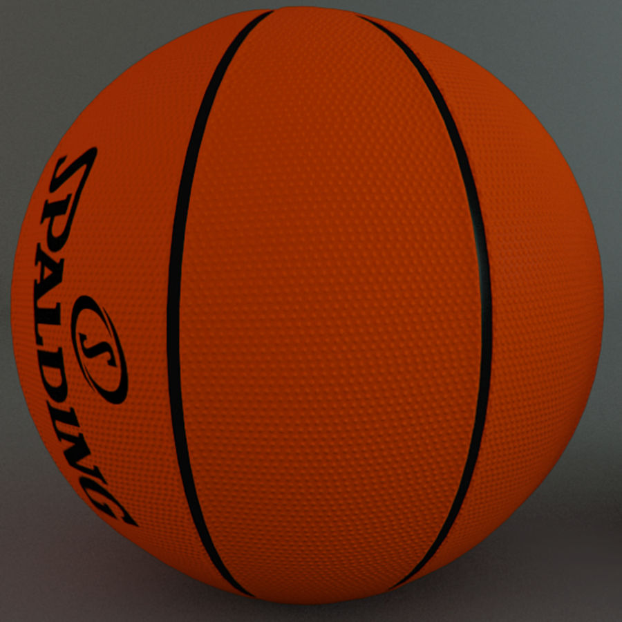 Collezione Sport Balls royalty-free 3d model - Preview no. 6