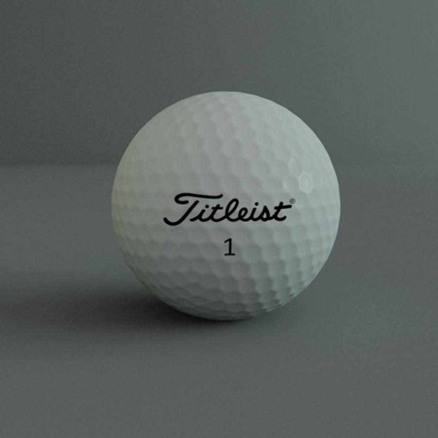Collezione Sport Balls royalty-free 3d model - Preview no. 8