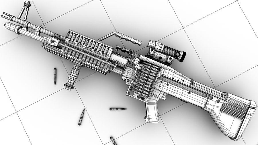 geweer royalty-free 3d model - Preview no. 6