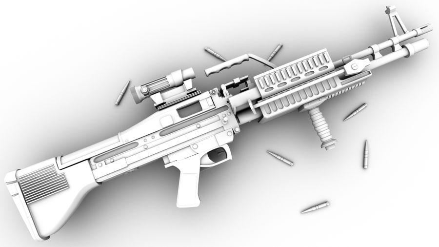 geweer royalty-free 3d model - Preview no. 5