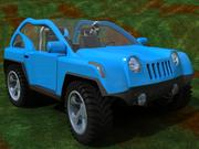 Offroad fun car 3d model