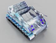 réservoir de véhicule 3d model