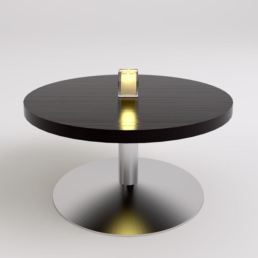 Stolik i krzesła royalty-free 3d model - Preview no. 5