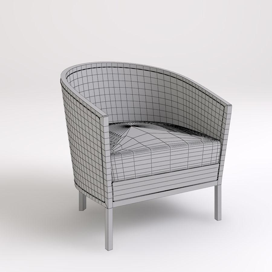 Stolik i krzesła royalty-free 3d model - Preview no. 4