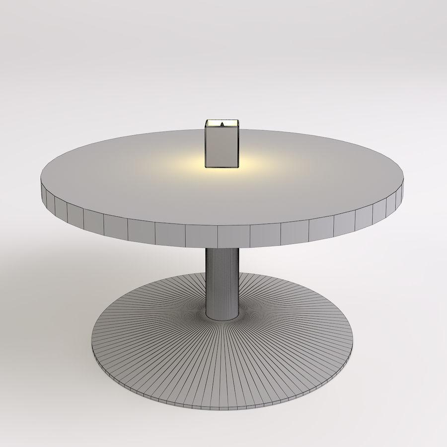 Stolik i krzesła royalty-free 3d model - Preview no. 6