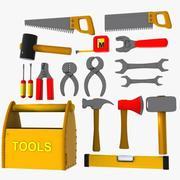 Cartoon Tool Collection 3d model