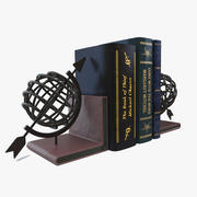 Bookend Globe 3d model