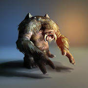 Troll Monstruo modelo 3d