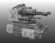 Lowpoly Tank 01 3d model