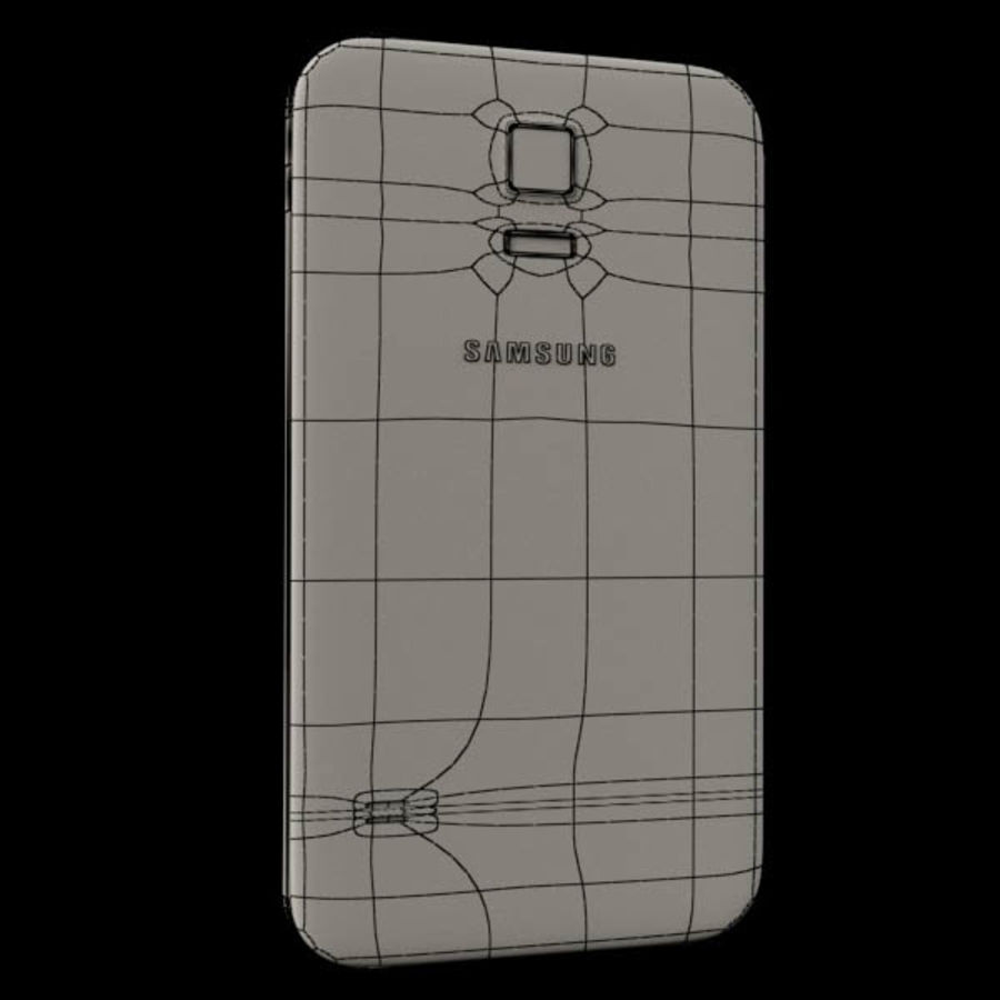 Samsung Galaxy S5 royalty-free 3d model - Preview no. 5