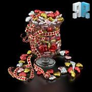 Candy Vase 3d model