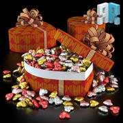 Heart Box 3d model