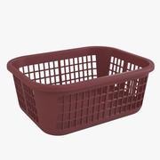 세탁 바구니 3d model