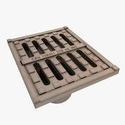 Kanalizasyon Örtüsü 3d model