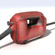 Бетон Вибратор Мотор 3d model