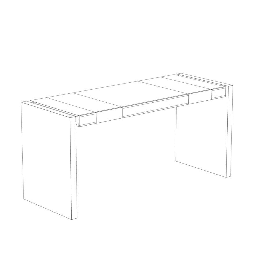 Escritorio moderno de madera royalty-free modelo 3d - Preview no. 7