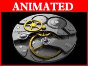 assista backfaces com animação 3d model
