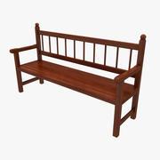 板凳3 3d model