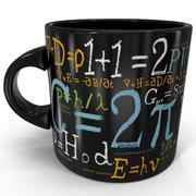 Caneca matemática das fórmulas 3d model