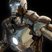 Człowiek z żelaza 3d model