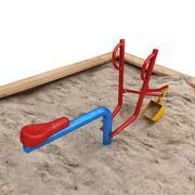 Escavador de areia 3d model
