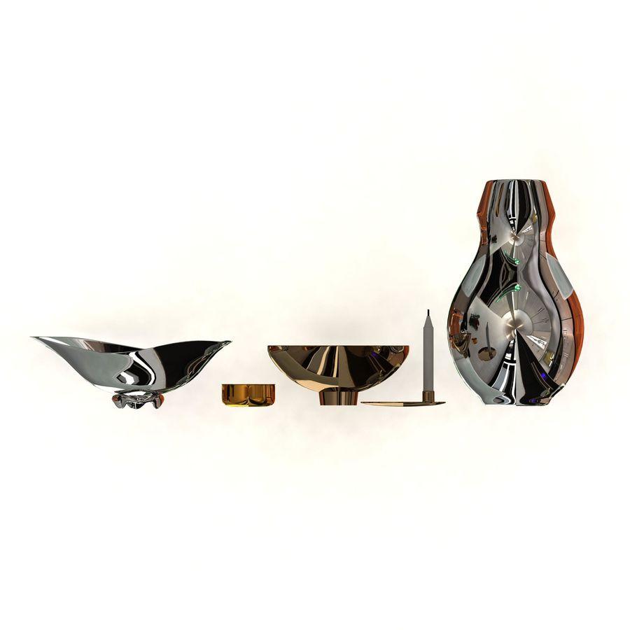 Pakiet dekoracyjny Georg Jensen royalty-free 3d model - Preview no. 2