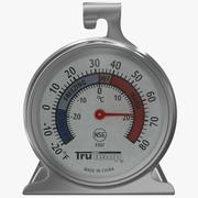 냉장고 냉동고 온도계 3d model