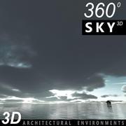 Ciel en nuage 002 3d model