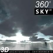 Cielo 3D Nublado 003 modelo 3d