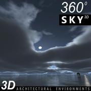 Sky 3D Clouded 013 3d model