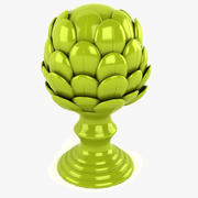 Porcelain Artichoke 3d model