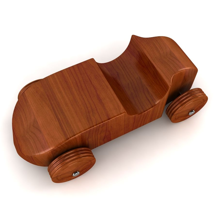 Speed Racer Car Toy royalty-free 3d model - Preview no. 4
