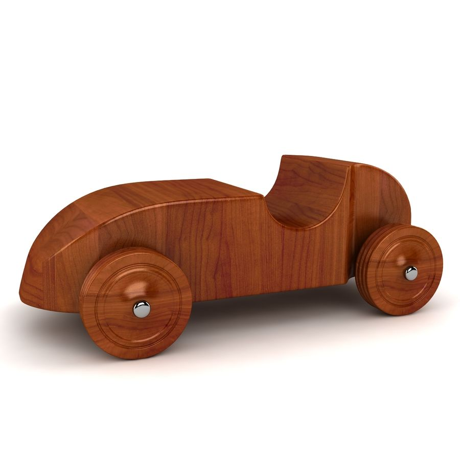 Speed Racer Car Toy royalty-free 3d model - Preview no. 5